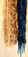 Tail spun art yarn- pluckyfluff and jazzturtle