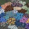 felted sushi beads