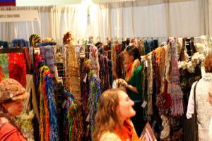 Jazzturtle Vogue Knitting Live booth