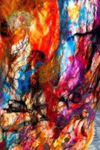 Jazzturtle Felt Textile Couture Scarf Shawl