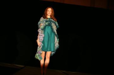 jazzturtle handspun yarn stitches south fashion show