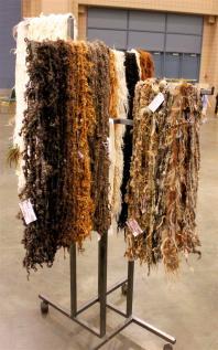 Jazzturtle handspun yarn Stitches South 2012